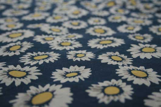 flower fabric texture with perspective