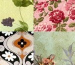 Vintage texture collection at Design Reviver