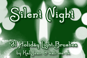brushes silent night