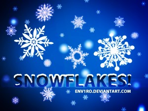 22 Snowflake Brushes