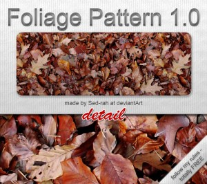 foliage pattern