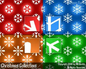 pattern christmas collection