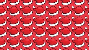 pattern santa hats