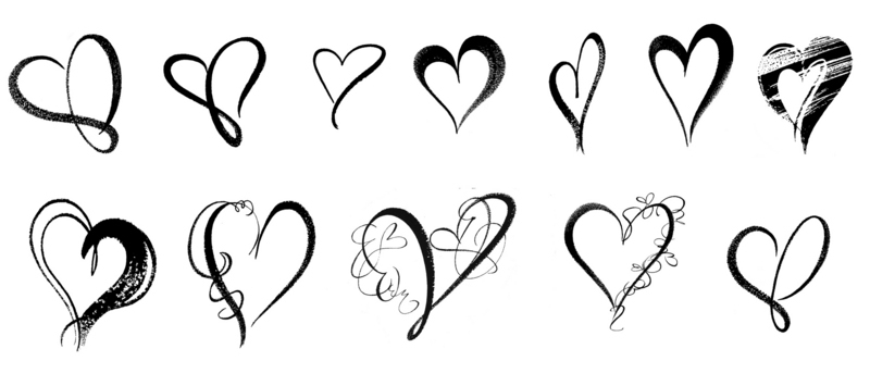 free heart brushes for photoshop cs6